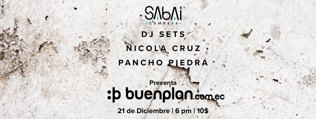 Nicola Cruz • Pancho Piedra DJ Set en Quito, BuenPlan