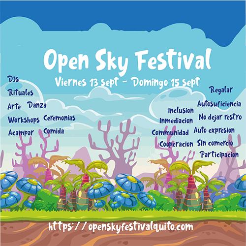 Open Sky Festival en Tababela, BuenPlan