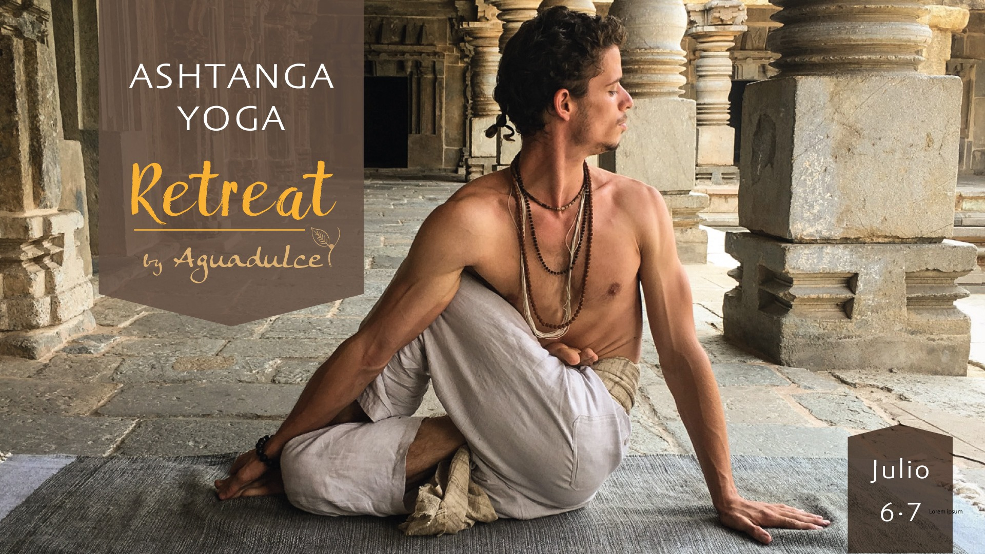 Retiro de Asthanga Yoga con  Atul (India) en Quito, BuenPlan