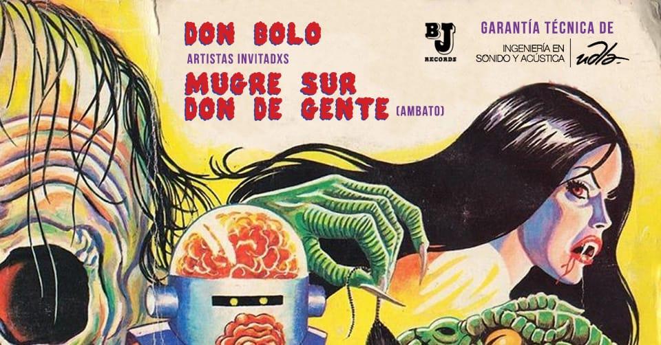 Don Bolo en vivo en el Teatro Patio de Comedias II en Quito, BuenPlan