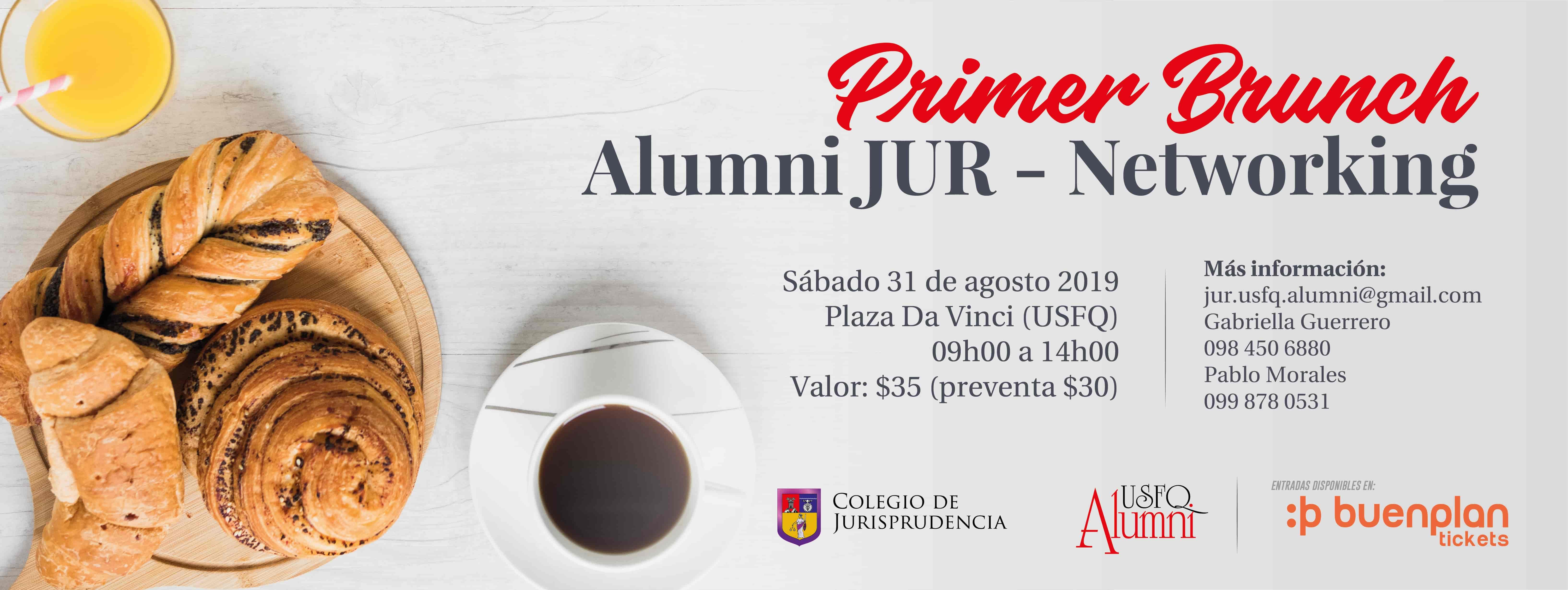 USFQ Alumni JUR Brunch- Networking en Quito, BuenPlan