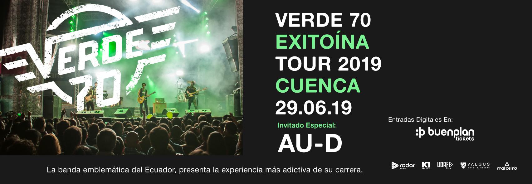 Verde 70 Exitoína Tour - Cuenca en Cuenca, BuenPlan
