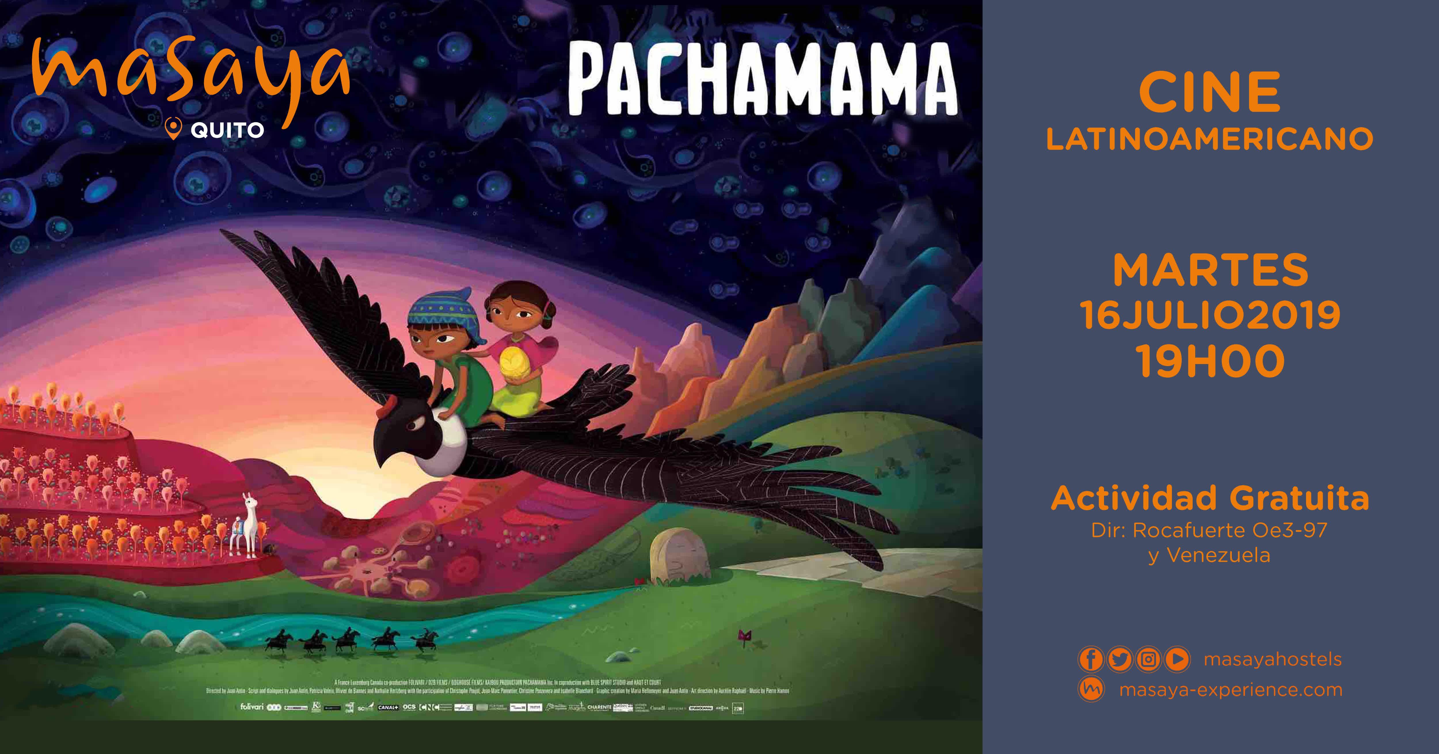 Cine Latinoamericano - Pachamama en Quito, BuenPlan