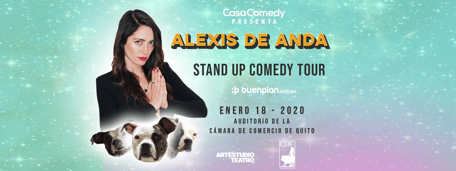 Alexis de Anda (México) Stand Up Comedy Tour  en Quito, BuenPlan