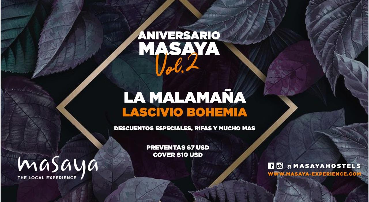 Aniversario Masaya Vol.2 en Quito, BuenPlan