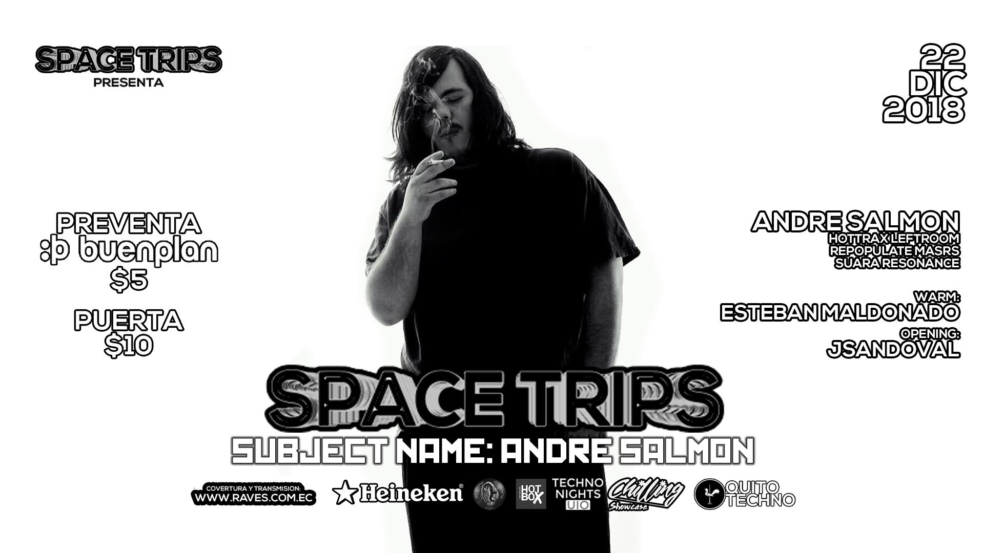 Spacetrips w/ Andre Salmon en undefined, BuenPlan