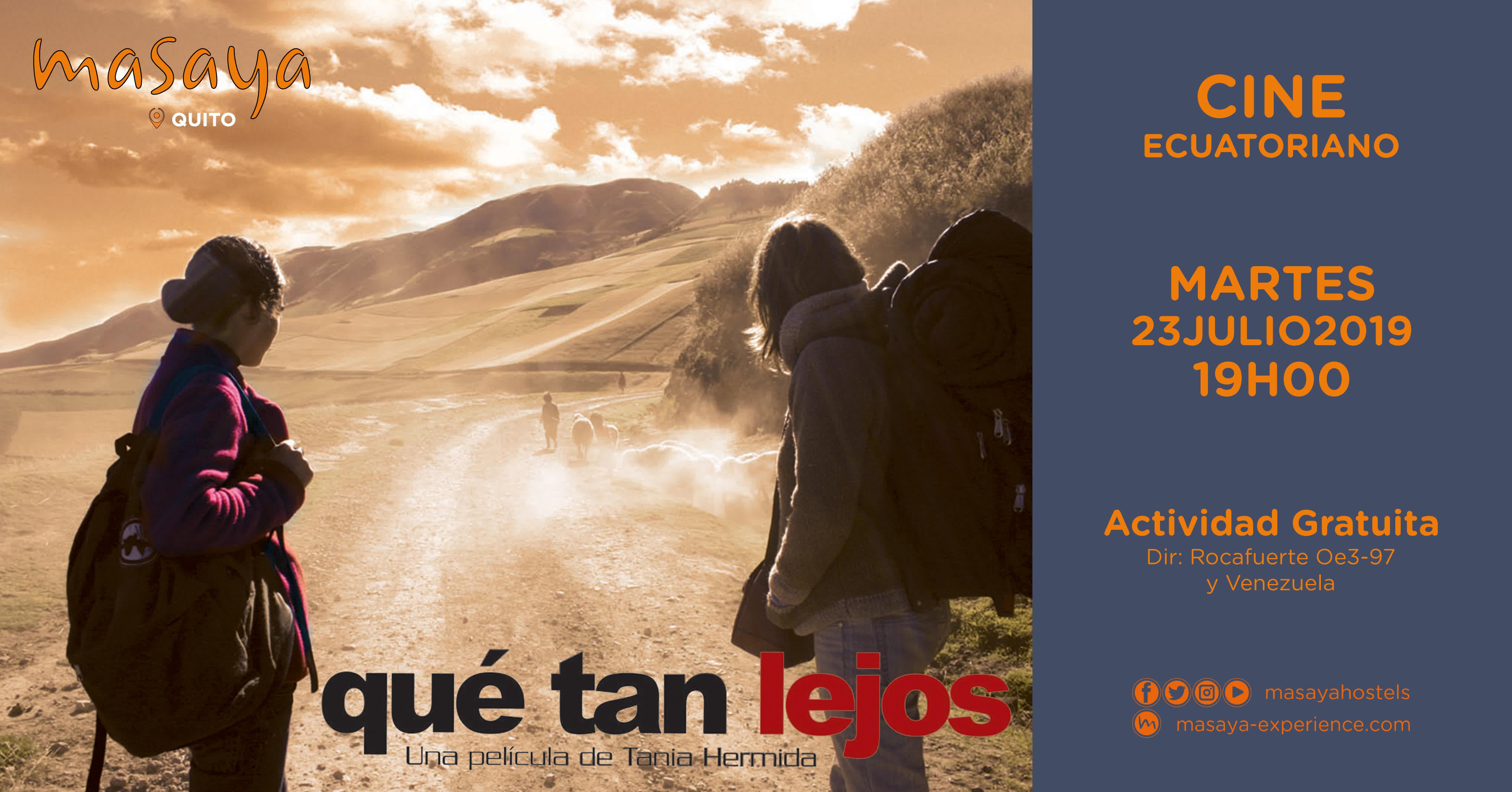 Cine Ecuatoriano - Qué tan lejos en Quito, BuenPlan