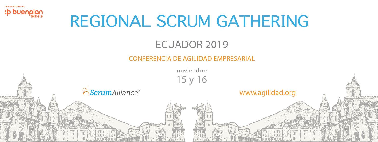 Regional Scrum Gathering Ecuador en Quito, BuenPlan