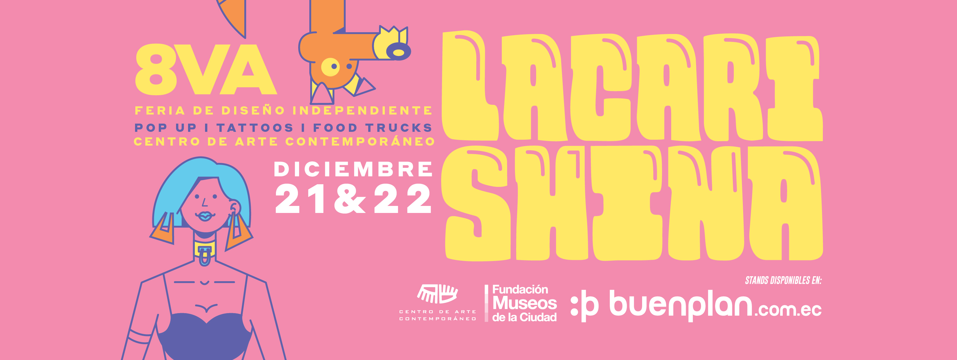 Feria La Carishina - Tattoos, Pop-up, - Food-Trucks en Quito, BuenPlan