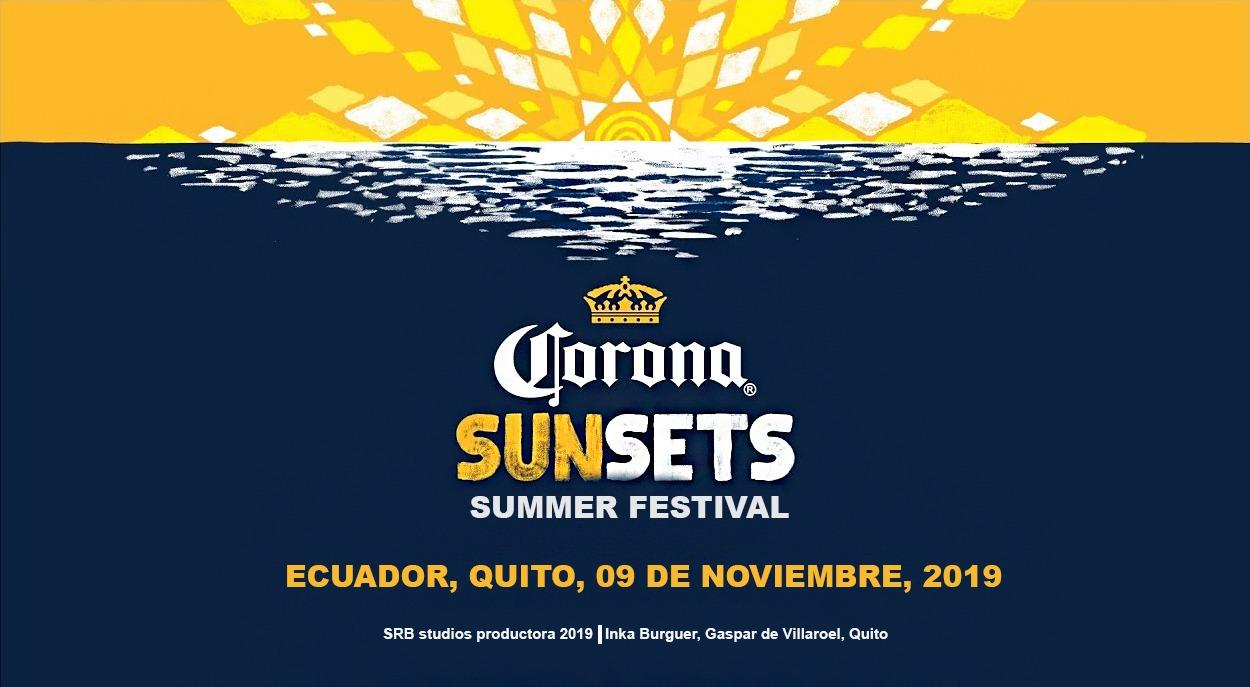 SUMMER FESTIVAL corona sunsets en Quito, BuenPlan
