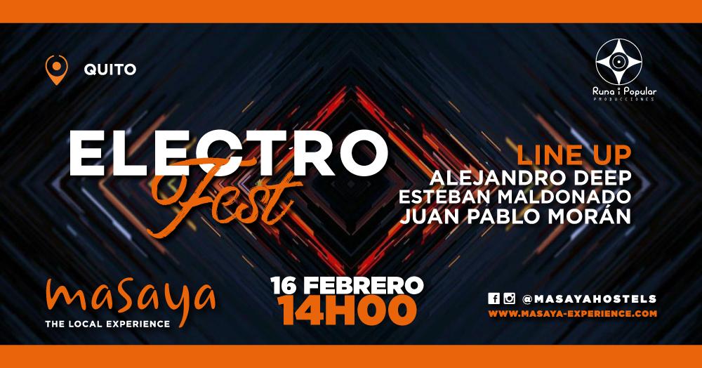 Masaya ElectroFest #14 en Quito, BuenPlan