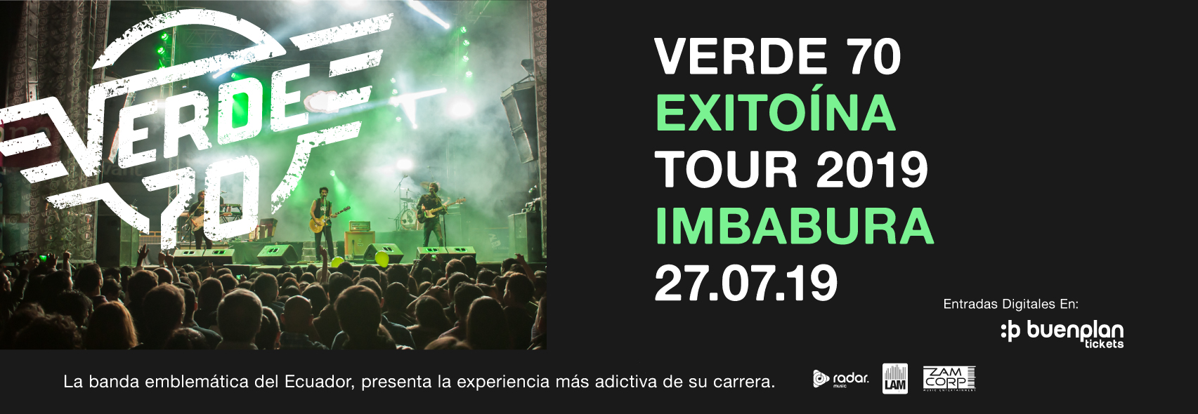 Verde 70 Exitoína Tour - Imbabura en Otavalo, BuenPlan