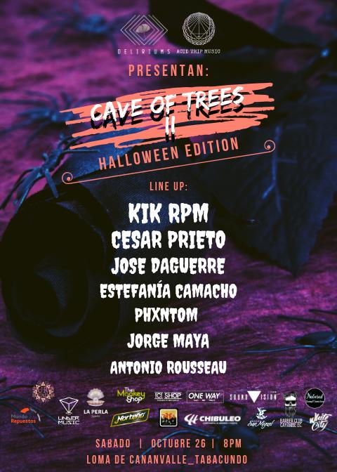 CAVE OF TREES ll Halloween edition en Tabacundo, BuenPlan