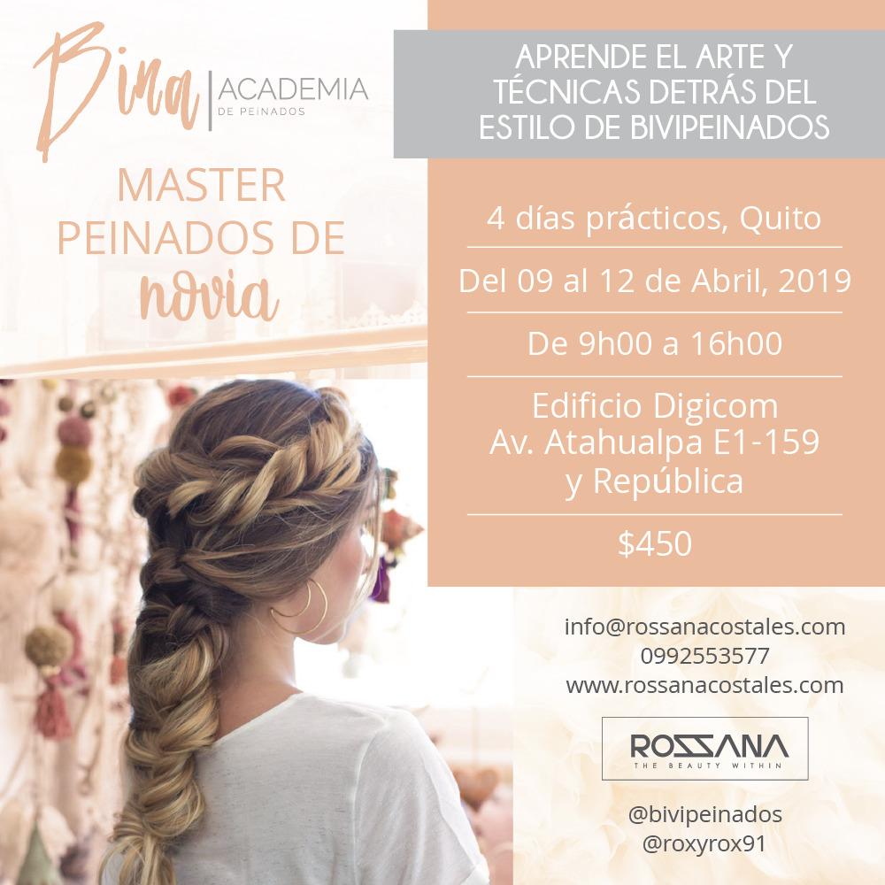 Master en Peinados de Novias con @BiviPeinados en undefined, BuenPlan