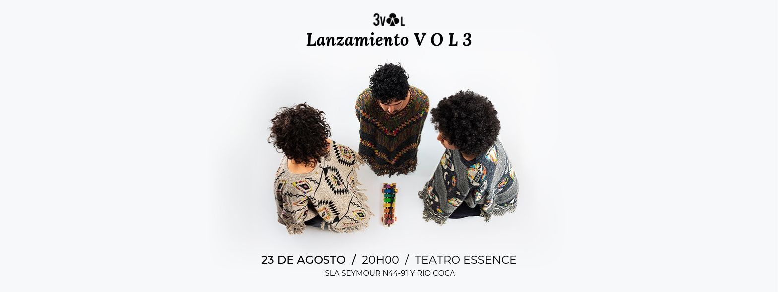 Lanzamiento V O L 3 en Quito, BuenPlan